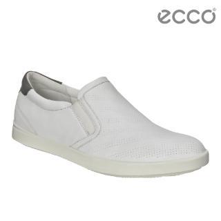 【ecco】AIMEE 經典輕巧休閒鞋 女(白 24107351151)