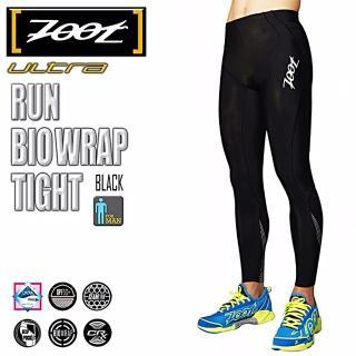 【ZOOT】頂級 RUN BIO TIGHT 肌能強化跑褲-長褲 男