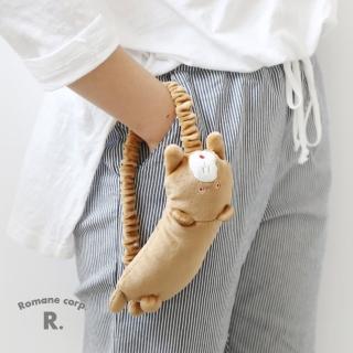 【Romane】Boy Meets Girl Pom Pom 睡眠眼罩 - Brunch熊