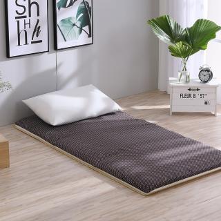 【LAMINA】雙竹兩用透氣床墊-水玉點點-咖(單人)