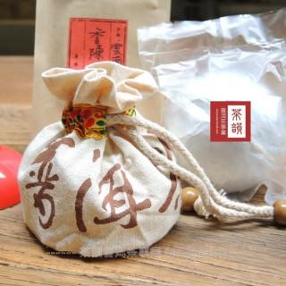 【茶韻普洱茶事業】買1送1下殺組90年代陳期20多年典藏歲月熟沱100g(附專用小麻袋x2.茶針x1)