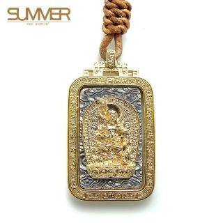 【SUMMER寶石】佛牌純銀項鍊(SB047)