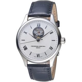 【CONSTANT 康斯登】經典開芯紳士腕錶(FC-310MS5B6)