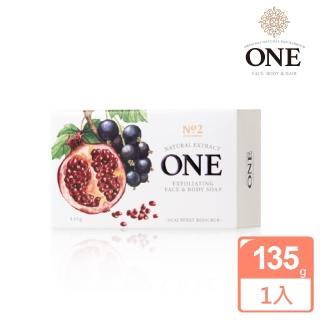 【ONE】煥采去角質美肌皂(淨白透亮 甜美香氛/135g ONE Soap)