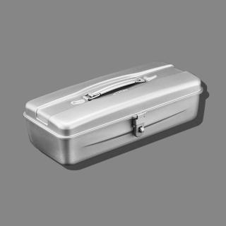 【Trusco】流線型工具箱(大)槍銀(流線型工具箱)