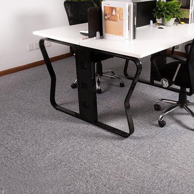 【JLM生活館】時尚拼接方塊吸音隔音地毯地板貼-36片一組「淺灰GR01」(地毯、隔音、吸音、拼接、方塊)/