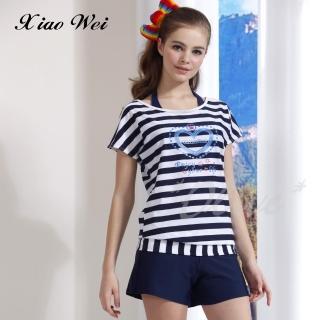 【小薇的店】台灣製泳之美品牌時尚四件式泳裝(NO.6002)