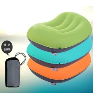 【May shop】戶外超輕超柔便攜充氣枕午睡枕護頸枕(充氣枕)