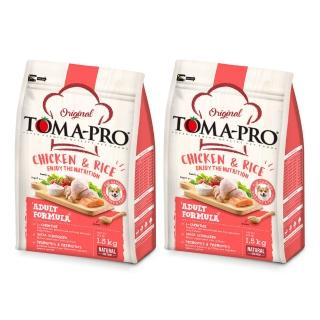 【TOMA-PRO 優格】成犬雞肉+米-1.5kg*2入(高適口性配方)