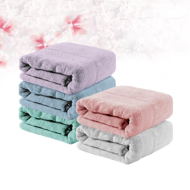 【Incare】超優質高級100%純棉厚款素色大浴巾(1入)/