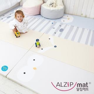 【ALZiPmat】韓國手工製 ZOO MAT 動物四折折疊墊 -(動物好朋友)