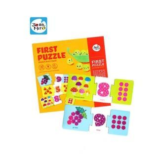 【JOANMIRO】兒童配對拼圖-數字遊戲