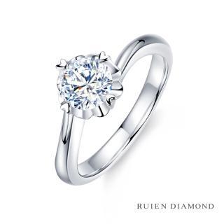 【RUIEN DIAMOND 瑞恩鑽石】GIA30分 D VVS2 3EX(18K白金 花火 鑽石婚戒)