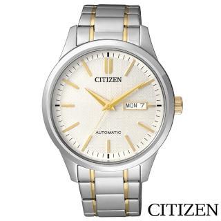 【CITIZEN 星辰】剛毅內斂藍寶石機械腕錶(NH7524-55A)