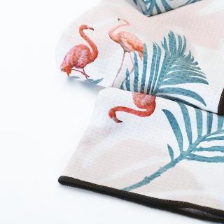 【日本ALL ABOUT ACTIVITY】海灘墊-粉紅火烈鳥(海灘墊/沙攤墊/野餐墊)