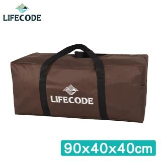 【LIFECODE】野營裝備袋90x40x40cm_XL號(咖啡色)