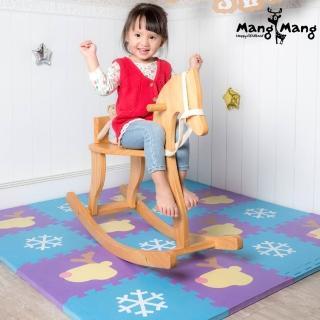 【Mang Mang 小鹿蔓蔓】寶貝安全防護地墊(雪片小鹿)
