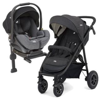 【奇哥】Joie mytrax 豪華二合一手推車+ISOFIX 嬰兒提籃汽座