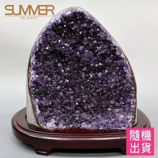 【SUMMER寶石】天然烏拉圭紫晶鎮2KG以上(隨機出貨)