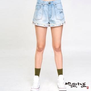 【BLUE WAY】金魚姬人魚化櫻花短褲 - 地藏小王
