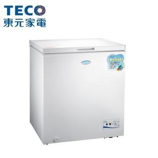 【TECO 東元】138公升 上掀式單門冷凍櫃(RL1417W)