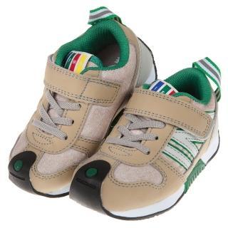 【布布童鞋】日本IFME深米杏流線透氣兒童機能運動鞋(P8R113W)