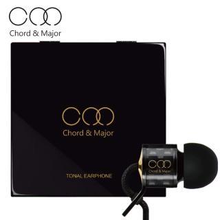 【Chord&Major】Electronic music 電子音樂 頂級碳纖維 入耳式精品調性耳機(耳機/入耳式耳機)