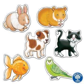 【Orchard Toys】第一組拼圖-寵物樂園(Pets Jigsaw Puzzle)