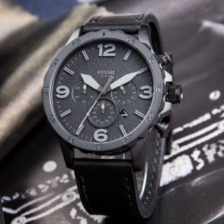 【FOSSIL】粗曠風格大錶徑個性腕錶(JR1354)
