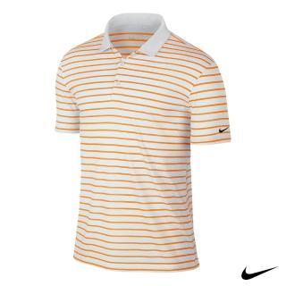 【NIKE 耐吉】GOLF男運動短袖POLO衫(橘725532-868)