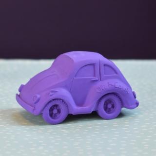 【西班牙Oli & Carol】摩登小金龜車-紫色(沐浴玩具)
