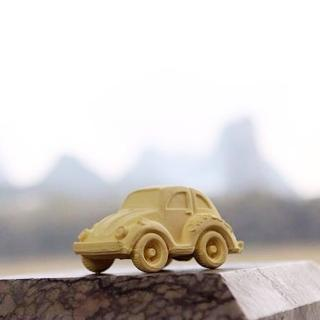 【西班牙Oli & Carol】摩登小金龜車-黃色(沐浴玩具)