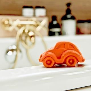 【西班牙Oli & Carol】摩登小金龜車-橘色(沐浴玩具)