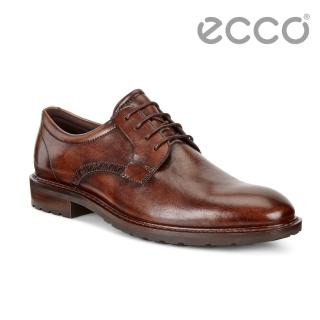 【ecco】ECCO VITRUS I雅致男士正裝德比鞋 男(棕 64030401009)