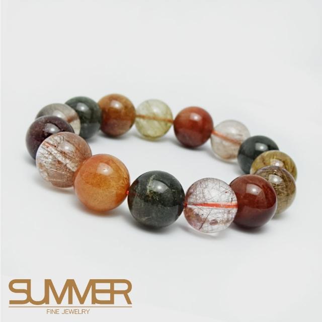 SUMMER珍稀滿絲全能量多寶鈦晶手珠