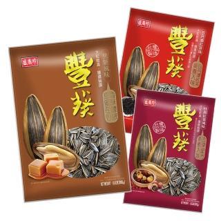 【盛香珍】豐葵香瓜子3kg-焦糖風味(超級重量包/焦糖香瓜子)
