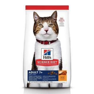 【Hills 希爾思】10311HG 成貓7歲以上 雞肉特調 10KG(貓飼料 送贈品)