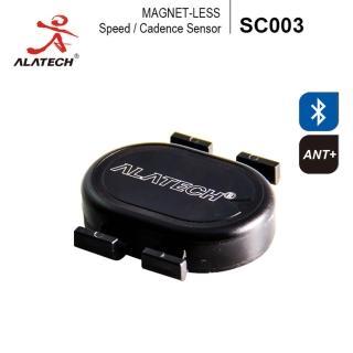 【ALATECH】藍牙/ANT+自行車雙頻無磁速度踏頻器(SC003)