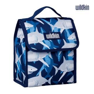 【Wildkin】直立式午餐袋/便當袋/保溫袋(55700 鯊魚家族)