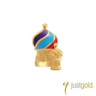 【Just Gold 鎮金店】繽紛派對系列 黃金單耳耳環-俄羅斯皇宮
