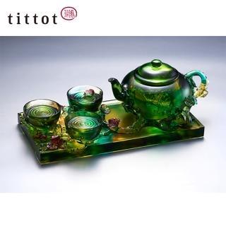【tittot 琉園】斟情人生 琉璃 擺飾(琉璃)