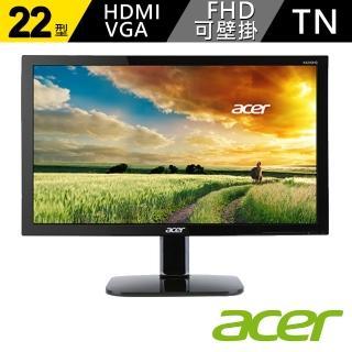 【acer 宏碁】KA220HQ bi 22型 TN 螢幕