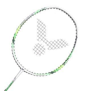 【VICTOR】極速-已穿線拍-訓練 羽球毛拍 羽毛球 勝利 銀螢光綠(JS-5133)
