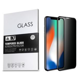 【IN7】APPLE iPhone X/XS 5.8吋 防窺3D全滿版鋼化玻璃保護貼(疏油疏水 鋼化膜)
