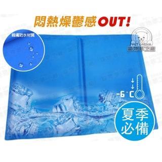 【寵物夢工廠】寵物冰墊LL號65*50cm 貓狗冰墊 人寵可用(筆電散熱 涼墊 散熱 狗窩 貓床 椅墊 涼爽)