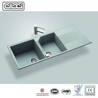【MIDUOLI米多里】ELLECI TEKNO500 金屬結晶石水槽/上嵌