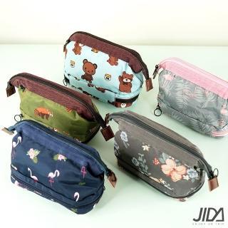 【JIDA】出清。第三代多功能防潑水大容量化妝包/收納包