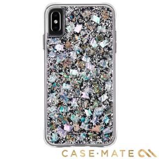 【美國CASE-MATE】iPhone XS / X Karat(貝殼銀箔防摔手機保護殼)