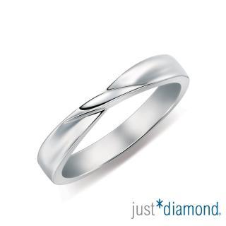 【Just Diamond】Eternity系列 18K戒指 I Swear 對戒(男戒)