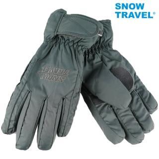 【SNOWTRAVEL】AR-ONE英國TPU防水套+白鵝羽絨700fill防水保暖滑雪手套/灰(滑雪/騎車/攻頂/海釣/出遊)